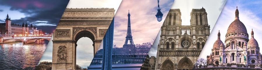 Paris photo mix - Lieux iconiques