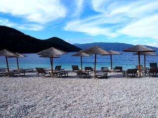 Rocky Antisamos beach Kefalonia
