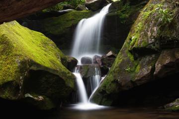 Wodospad Smoky Mountain