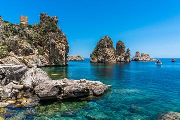 Scopello na Sycylii we Włoszech