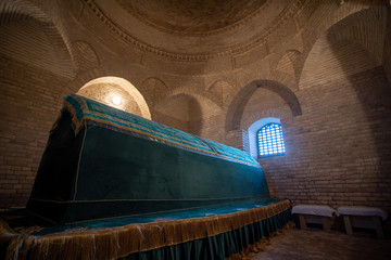 Arystan Bab Mausoleum at Turkestan Kazakhstan.