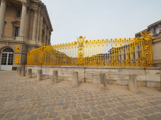 Palace of Versailles World Heritage of France Many tourists want to visit once.