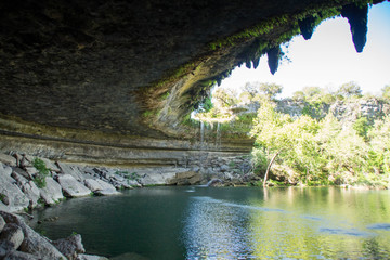 Visiting Hamilton Pool Preserve in Texas Hill Country, USA