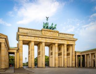 Brandenburg gate in summer day, Berlin