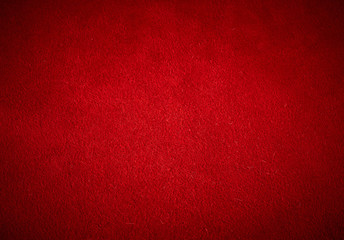texture of red cow suede, full frame