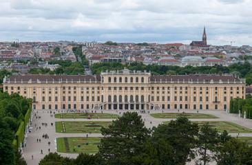 Schoenbsunn palace in Vienna
