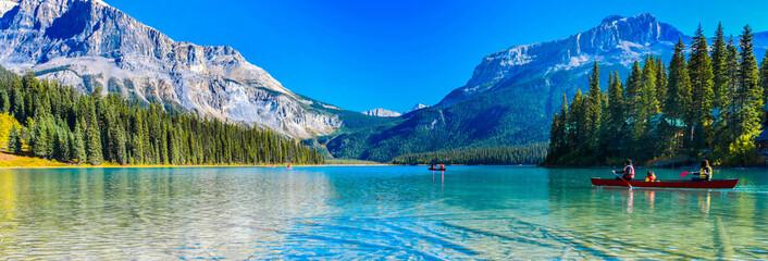 Emerald Lake, Park Narodowy Yoho w Kanadzie, rozmiar transparentu