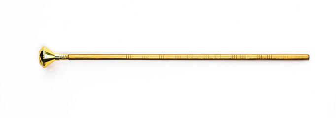 golden magic wand, magic staff