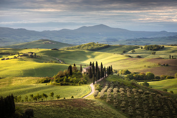 Countryside near Pienza, Tuscany, Italy