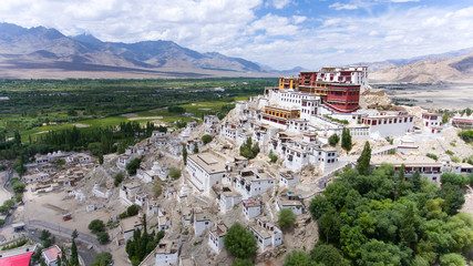 Thikse Gompa or Thikse Monastery is a gompa affiliated with the Gelug sect of Tibetan Buddhism. It is located on top of a hill in Thiksey approximately 19 kilometres east of Leh in Ladakh, India.