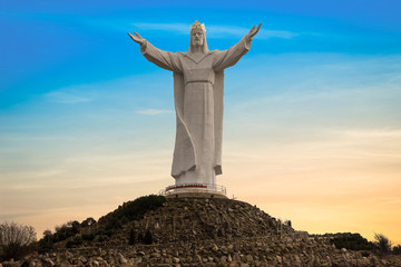 Jesus Christ Monument, Swiebodzin, Poland. Biggest Jesus in the world