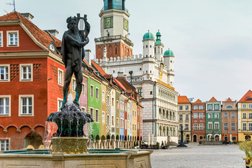 Zabytkowa architektura ratusza w Poznaniu