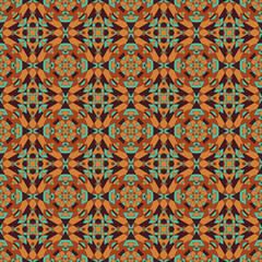 Tasty Kaleidoscope Seamless Pattern