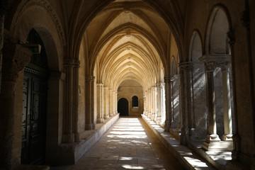Romański klasztor Kościół Saint Trophime Cathedral w Arles. Prowansja, Francja