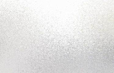 White shimmer background. Light frosty texture.