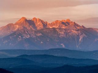 Pieniny - Carpathians Mountains