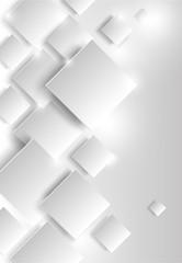 streszczenie tło geometryczne z białymi kostkami