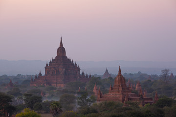 Htilominlo Temple is a Buddhist temple located in Bagan, in Burma/Myanmar, built during the reign of King Htilominlo, 1211-1231.