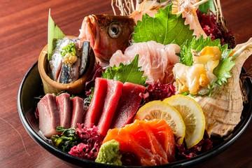 Półmisek Sashimi ze świeżych ryb