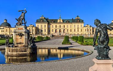 The Drottningholm Palace in Stockholm.
