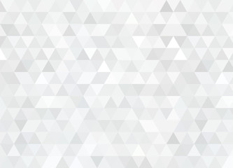 Abstract triangular background. Gray geometric pattern.