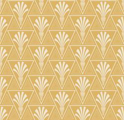 Art deco - seamless geometric pattern