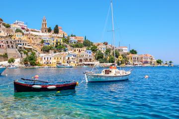 Symi Island view. Greece
