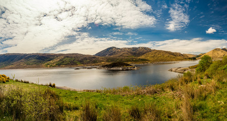 Scottish Highlands in Isle of Skye during May
