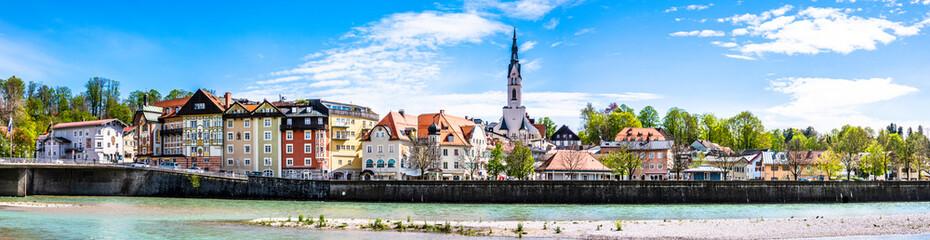 słynne stare miasto Bad Toelz - Bawaria