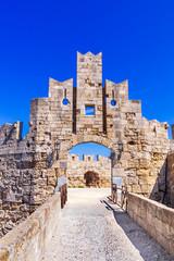 Rhodes fortress, Greek Islands - Greece
