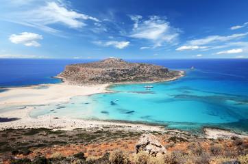Słynna laguna Balos, Kreta, Grecja