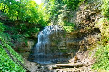 Tiffany Falls, Hamilton Ontario in the summertime
