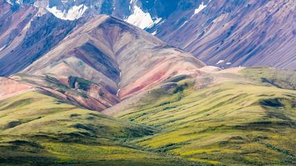 USA, Alaska, Park Narodowy Denali. Krajobraz gór i dolin. Źródło: Don Paulson / Jaynes Gallery / DanitaDelimont.com
