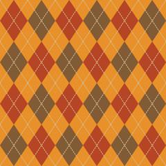Argyle Fall Seamless Pattern Plaid.