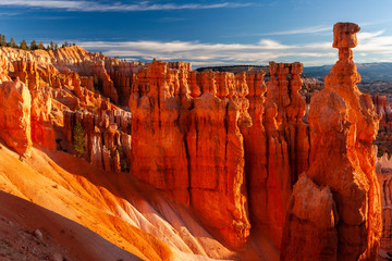 Thor's Hammer formation in Bryce Canyon National Park, Utah