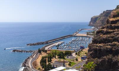 Calheta coastal landscape, Madeira