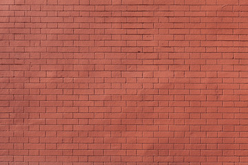 clean textured red brick wall background photography
