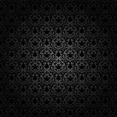 vector seamless  background in retro style