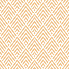 Seamless pattern with beige geometric design