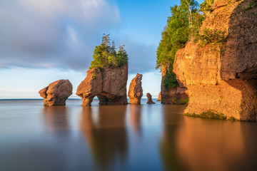 Hopewell Rock, New Brunswick, Kanada