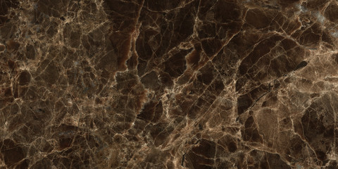 Dark color marble texture, emperador marble surface background.Brown marble background