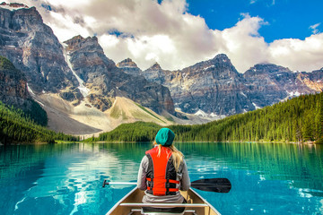 Moraine Lake Park Narodowy Banff Kanada