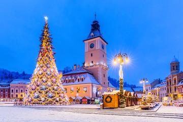 Brasov, Romania. Christmas Market.