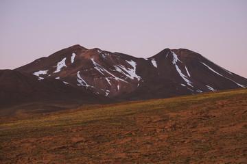 Wysokie góry na pustyni Atacama