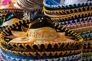 El sombrero de charro mexicano, es un sombrero popular de la cultura mexicana, usado principalmente por los jinetes conocidos como charros, y actualmente por los mariachis