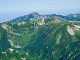 黒部五郎岳と双六岳
