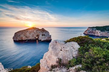 Wyspa Foradada na Sardynii we Włoszech.
