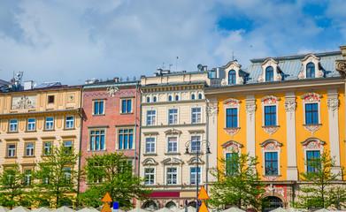 Market square (Rynek Glowny) - the main square of Krakow, Poland