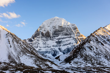 Tibet. Mount Kailash. North face