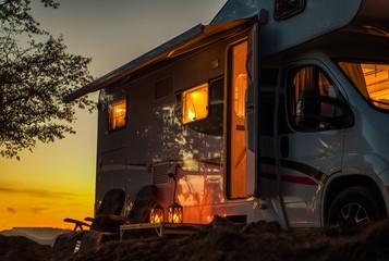 Scenic RV Camping Spot